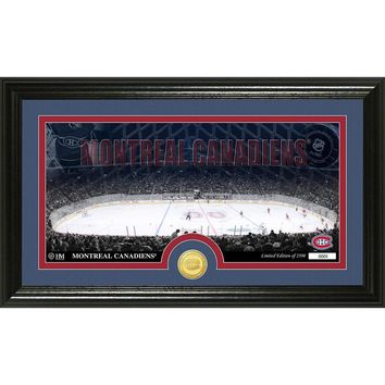 Montreal Canadians Bronze Coin Panoramic Photo Mint