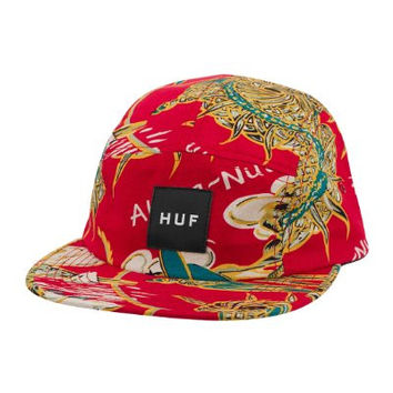 HUF Men's Souvenir 5 Panel One Size Red