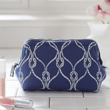 PETIT FRAMED COSMETIC BAG - ROPE