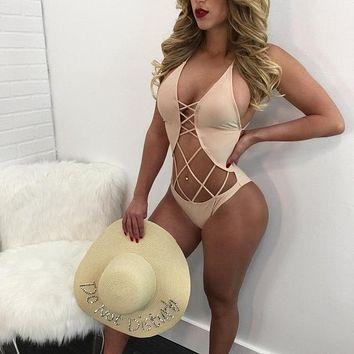 Perfectly Cut-Out One-Piece Swimsuit