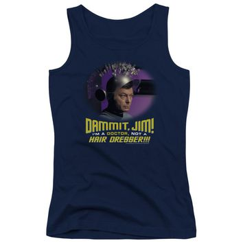 Star Trek - Not A Hair Dresser Juniors Tank Top
