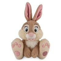 """Licensed cool 14"""" MISS BUNNY Plush Rabbit  Bambi Movie Disney Store Authentic Patch 2014 NWT"""