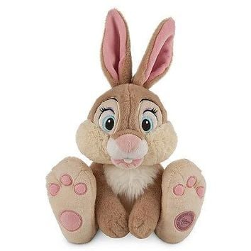 "Licensed cool 14"" MISS BUNNY Plush Rabbit  Bambi Movie Disney Store Authentic Patch 2014 NWT"