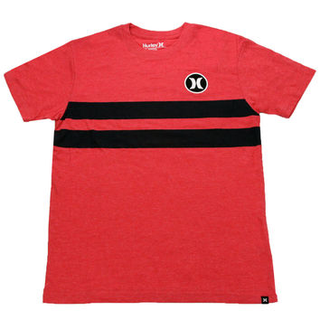 Hurley Youth Block Party T-Shirt Red/Navy M