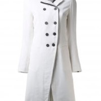 ANN DEMEULEMEESTER - Double Breasted Coat - 141-1108-181-003 - H. Lorenzo