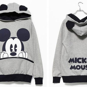 Mickey Mouse Pullover Hoodie, Must Have=D