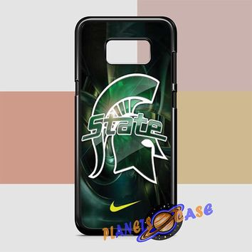 Michigan State nike Samsung Galaxy S8 Plus Case Planetscase.com