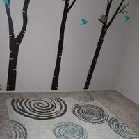 Songbirds and Buttons: Levi's Nursery : Mohawk Rug + Giveaway