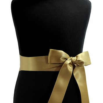 """1.5"""" Satin Ribbon Sash by Lille Couture"""