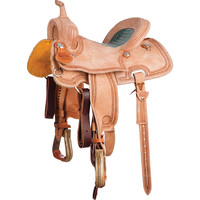 NRS Competitors Series Roughout Barrel Racing Saddle