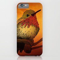 The Sunset Bird iPhone & iPod Case by Texnotropio