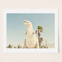 Urban Dreams Photography Palm Springs Dino Art Print