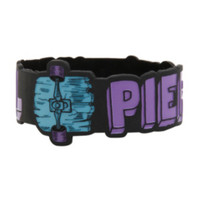 Pierce The Veil Skate Die-Cut Rubber Bracelet