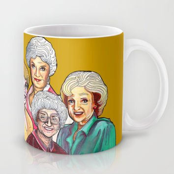 Golden Girls Mug by Minervatorresguzman