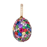 Emotion Multi Coloured Charm | Egg Charms | FABERGÉ.com