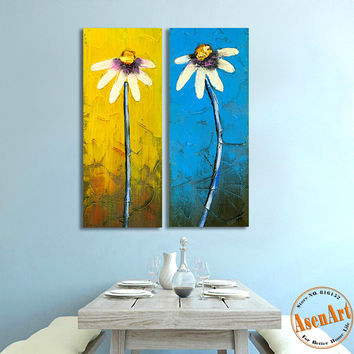 Best White Flower Canvas Paintings Products On Wanelo