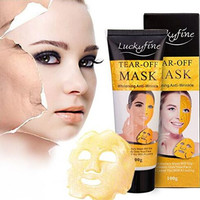 Gold Collagen Mask Anti Aging Whitening Wrinkle Lifting Peel Off Masks Face Care for Women Men