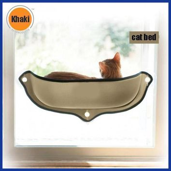 Cat Window bed Mounted Cat Bed Hammock Mat cat Lounger Perch Cushion Hanging Shelf Seat with Suction Cup.