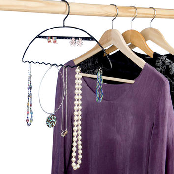Evelots Set of 3 Jewelry Organizing and Display Hangers