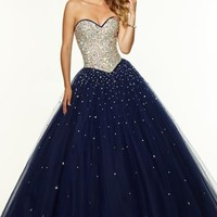 Mori Lee Amazing Ball Gown Dress 97107