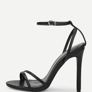 Ankle Strap Strappy Heels