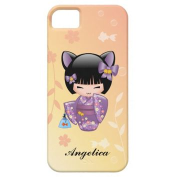 Nekomimi Kokeshi Doll Personalized