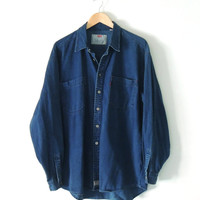 Levi's Denim Shirt / Dark Wash Denim shirt
