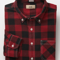 Flannel Shirt - Red Buffalo Check