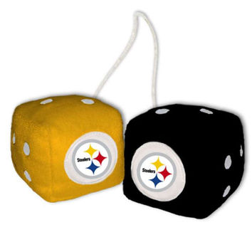Pittsburgh Steelers Official NFL Fuzzy Dice