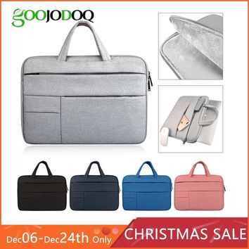 "Laptop Sleeve Case Bag for Macbook Air 11 Air 13 Pro 13 Pro 15'' New Retina 12 13 15 Cover Notebook Handbag 14"" 13.3""15.4"" 15.6"""