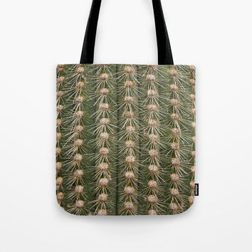Cactus close up Tote Bag by steveball