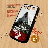 Pierce The Veil and Sleeping-Print On Hard Case Samsung GalaxyS3 i9300