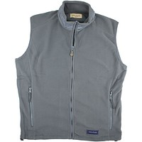 The Camden Vest in Gunmetal Grey by Southern Point Co. - FINAL SALE