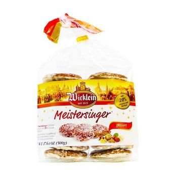 Wicklein Meistersinger Lebkuchen Gingerbread, 17.6 oz