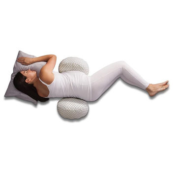 Boppy Bump & Back Support Pillow w/removable Jersey Slipcover