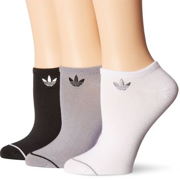 adidas Women's Originals No Show Socks (3 Pack)