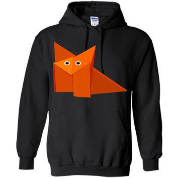 Amiable Cute Origami Fox Instructions 2017 T Shirt