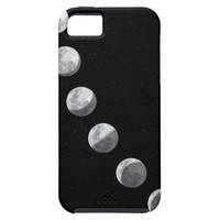 Moon phases iPhone 5 cases from Zazzle.com