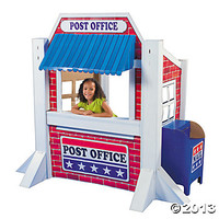 3D Post Office Stand-Up