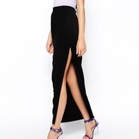 ASOS Maxi Pencil Skirt in Crepe