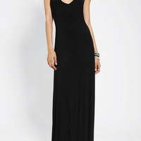 Sparkle And Fade Black Maxi Dress  (Urban Outfitters)