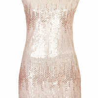 **OMBRE SEQUIN DRESS BY RARE