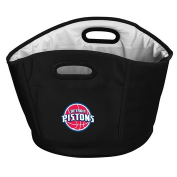 Detroit Pistons NBA Collapsible Beverage Cooler Party Bucket