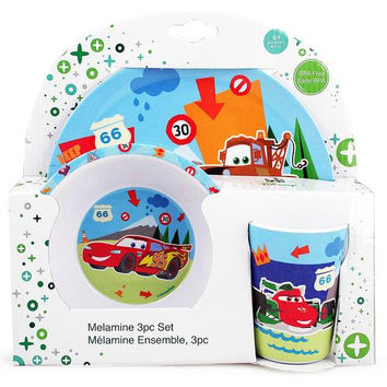 Disney Pixar Cars Melamine Set
