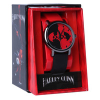 DC Comics Harley Quinn Batman Logo Watch