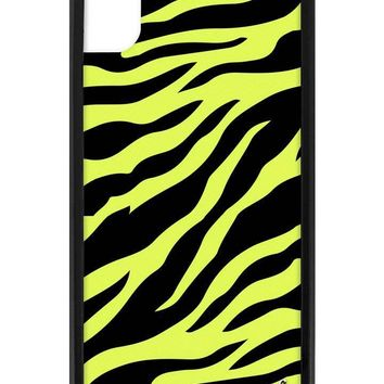 Neon Zebra iPhone Xr Case