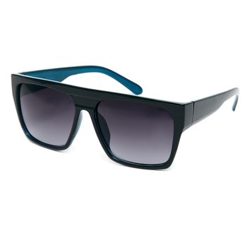 ASOS Flat Brow Sunglasses with Contrast Colo