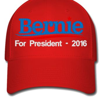 Bernie Sanders 2016 EMBROIDERY HATS - Flexfit Baseball Cap