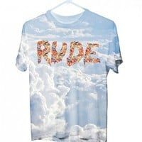 RUDE HIPSTER CLOUD T-SHIRT