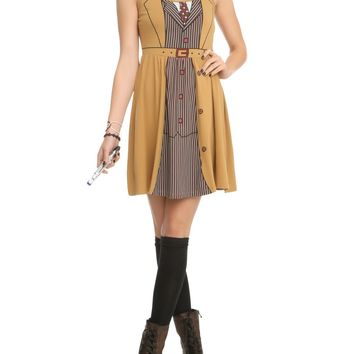 Licensed cool BBC DR Doctor Who Her Universe David Tennant Tenth Doctor Costume Dress XL